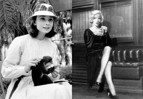 marilyn-and-audrey-490x341